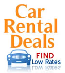 Car rental deals low rates