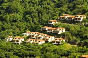 Villas Sol Hotel And Beach Resort Perched On A Hillside Overlooking Beautiful Playa Hermosa The Consists Of 110 Fully