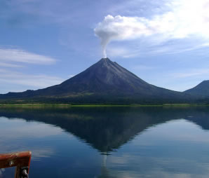 Arenal Volcano (active)